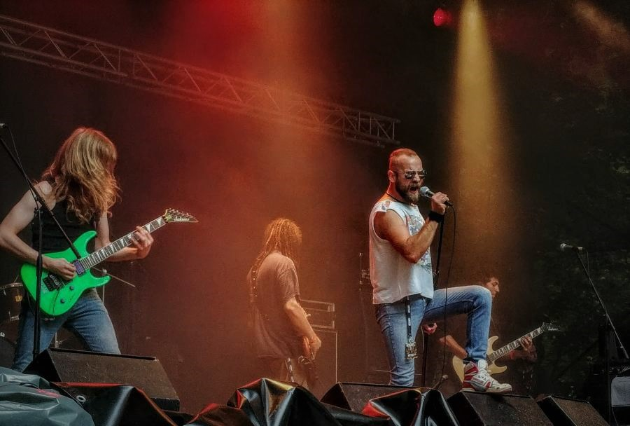 Shotdown, Metaldays 2017. Foto: Anja Rijavec